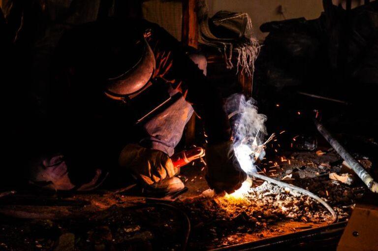 Stick welding stainless steel